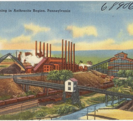 Coal mining in Anthracite Region, Pennsylvania (1). 1930