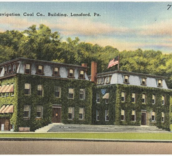 Lehigh Navigation Coal Co., building, Lansford, Pa. 1930