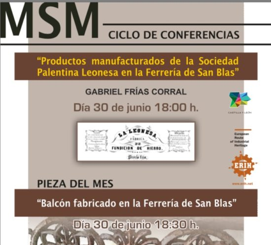 CARTEL CONFERENCIA PRODUCTOS MANUFACTURADOS